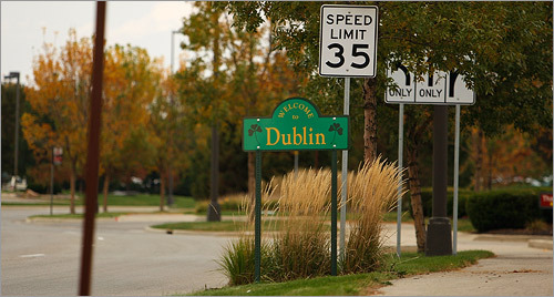 Dublin Dublin, Ohio, is another fast-growing exurb of Columbus.