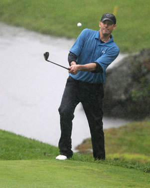 On Sept. 27 -- just days after receiving chemo -- Montalbano played in the Andrew Sarkisian Memorial Golf Tournament at the New England Country Club in Bellingham.