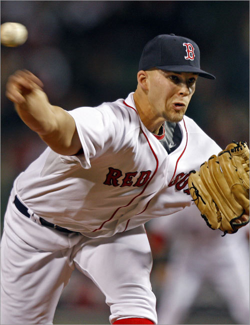 4. What to do with Justin Masterson? Assuming Josh Beckett's health, the pitching staff is in good shape, and the Sox have better targets than Jake Peavy on which to spend resources. Remember, too, that Epstein and his staff have excelled at producing pitching, and that the Sox still have Clay Buchholz, Michael Bowden and Daniel Bard, among others. All of this brings us back to Masterson, who is a pivotal player here. If the Sox anticipate him being a starter, they may need some bullpen help and Buchholz becomes a bargaining chip. If Masterson is a seen as a reliever, the Sox may need to keep Buchholz and Bowden for depth in 2009. In either case, the Sox need to establish a plan for Masterson.