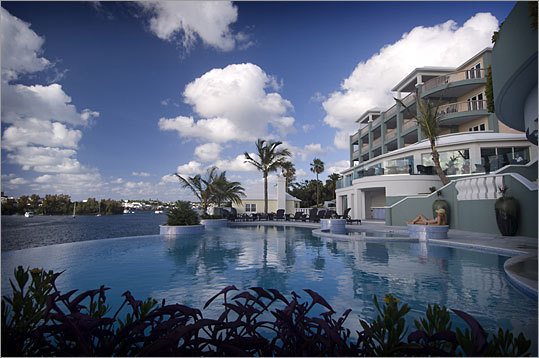 Newstead Belmont Hills Resort and Spa in Bermuda sells fractional shares in its suites.