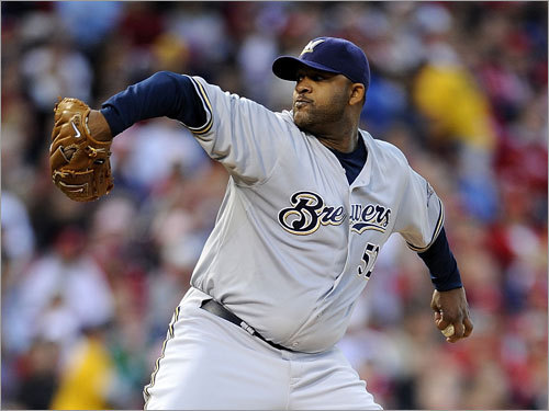 CC Sabathia 2008 statistics (combined): W-L ERA IP K BB 17-10 2.70 253 251 59 The big lefty is the biggest catch on the free agent market this year. After a midseason trade to the Brewers, he went 11-2 with a 1.65 ERA, hurling three shutouts and seven complete games in 17 starts. He'll command big dollars, but the Sox likely will not be willing to pay, especially since they have privately expressed concerns about his long-term durability. The Yankees have made him their top offseason priority.