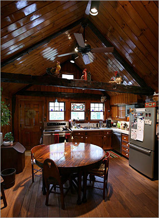 How to Attach Cathedral Wood Beams | eHow.com
