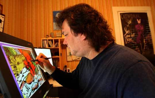 Rick Keene adds his restorative touch to a Starman comic from the 1940s.