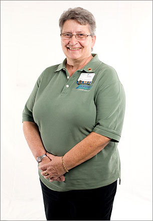 Name: Lucy Cochrane Age: 61 Company: Benchmark Assisted Living in Agawam Job: Housekeeper and cultural ambassador Tenure: 10 years 'I truly enjoy being with the residents. Of course, my co-workers, we work as a team and it makes the job fun. But seeing the residents in the morning... it makes you feel good to see them smile. They're just perfect, so thankful, and just the nicest people even when they're asking for extra toilet paper.'