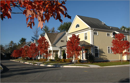 Olde Village Square is a brand new development in Medfield consisting of 24 'detached town home condominiums,' ranging in size from 2,000 to 3,000 square feet. &#8226; Read the story