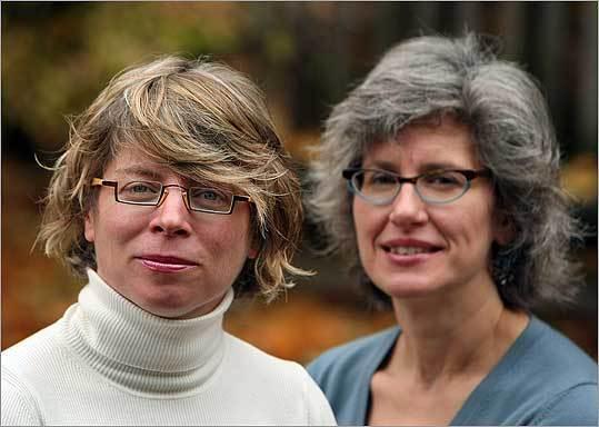 Authors of the new book, 'Blindspot,' Jill Lapore (left) and Jane Kamensky.