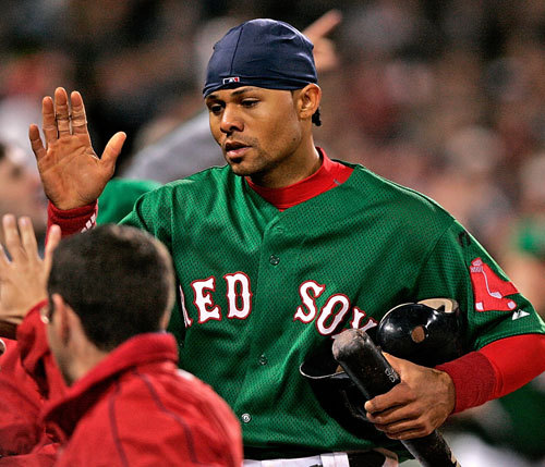 In that same game, Crisp scored the winning run and drove in two runs on a triple off the Yankees's Mariano Rivera in the eighth inning.