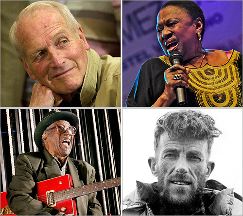 Each year brings the sad parting of notable figures who helped shape the world in which we live. Scroll through this gallery to see some of the luminaries who passed away in 2008.