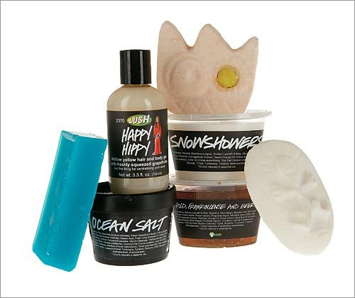 Christmas Party Gift Set by Lush For time-strapped social butterflies who want to look refreshed but don&#146;t have time to lounge in the tub, this high-value set offers the perfect solution: seven items that will rejuvenate through New Year&#146;s and beyond. $49.95 at Lush, 166 Newbury Street, Boston, 617-375-5874, lush.com