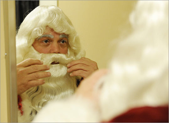 It's getting more expensive to play Santa. Walter Finch says his dry-cleaning fees have nearly doubled this year.