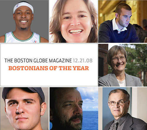 Who is the Bostonian of the Year? The Boston Globe Magazine has made its annual choice of the Bostonian of the Year. Scroll through a gallery of the finalists, then see the winner (or just click to the last frame, if you can't wait).