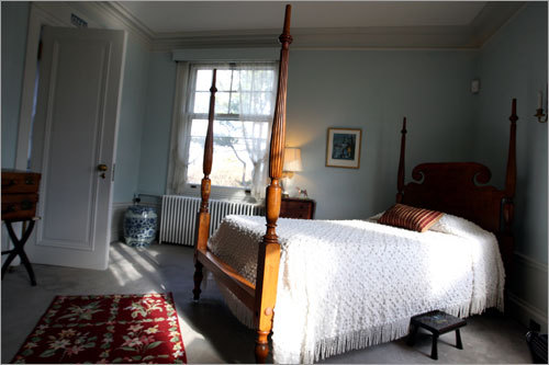 Another one of the bedrooms inside the Wyck Estate.