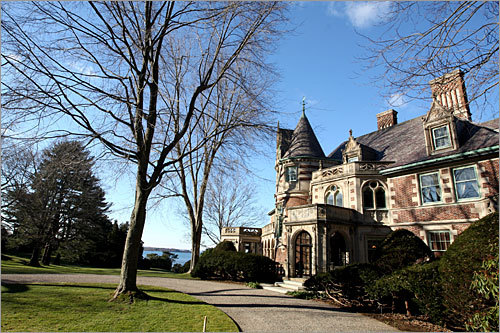 When the Wyck Estate on Smith's Point in Manchester-by-the-Sea was first put on the market - four years ago - the sellers were asking $23.5 million. It's now down to just $12.25 million, which is almost 50 percent off its initial listing price.