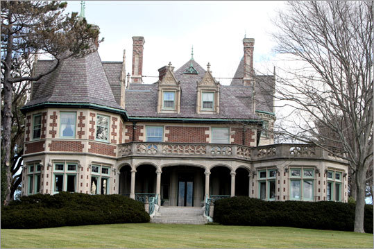 The Wyck Estate in Manchester-by-the-Sea was modeled after a French chateau when it was built in 1912.
