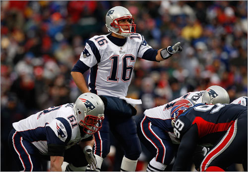 Week 17 In a must-win season finale played in 35-50 mile-per-hour gusts, Cassel was an efficient 6 of 8 passing for 78 yards , and rushed for another 19 yards in Buffalo. 'I thought Cassel made a lot of great decisions today,' Bill Belichick said after the game. 'To throw it, to run it . . . he put the ball, at times, in only places it could be caught.'
