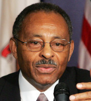 Roland W. Burris, a former state attorney general, was the first African-American elected to major statewide office in Illinois.