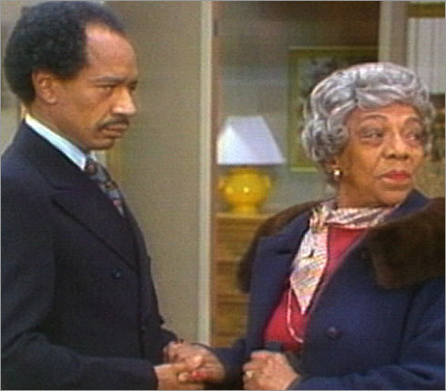 Mother Jefferson on 'The Jeffersons' (Zara Cully) George Jefferson's mother was known on the show simply as Mother Jefferson (her character's first name was Olivia - put that in your back pocket for the next time you play trivia with friends). She and her daughter-in-law, Louise, or Weezie (played by Isabel Sanford) never got along. Mother Jefferson blamed all of her son's ills on Louise - who steadfastly stood up to her mother-in-law. Actress Zara Cully passed away after the show's fourth season.