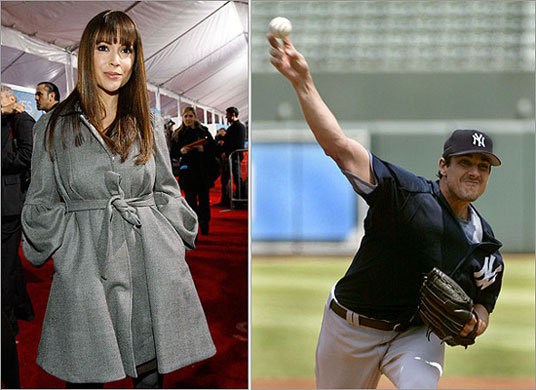Alyssa Milano had a brief relationship with free agent pitcher Carl Pavano. Milano has also dated San Francisco pitcher Zito and new Boston pitcher Brad Penny.