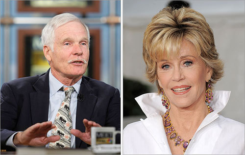 Though not a player, former Atlanta Braves owner and CNN founder Ted Turner became one with his 1991 marriage to Academy Award-winning actress Jane Fonda. After 10 years of marriage, the couple divorced in 2001.