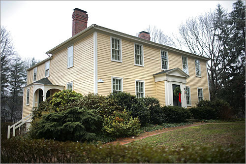 This home only had two lower and two upper rooms when it was built in 1790 by the Abbott family, one of the town's founding families. The home now has 8 total rooms, 4 bedrooms, and 3 bathrooms. Address: 72 Central St. Price: $895,000 Style: Federal Built: Circa 1790 Square feet: 2,987
