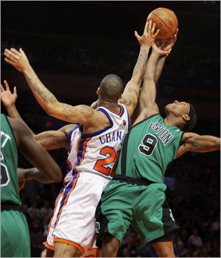 Stopping Rondo Have teams finally figured out how to stop Rajon Rondo? Rondo (1-for-8 against Cleveland Friday night) is shooting 41 percent in his last 10 games, a disturbing number of a player who doesn't take many outside shots. The Knicks held the Celtics point guard to just 3 points and 3 assists. And the Bobcats limited Rondo to six assists with nine turnovers.