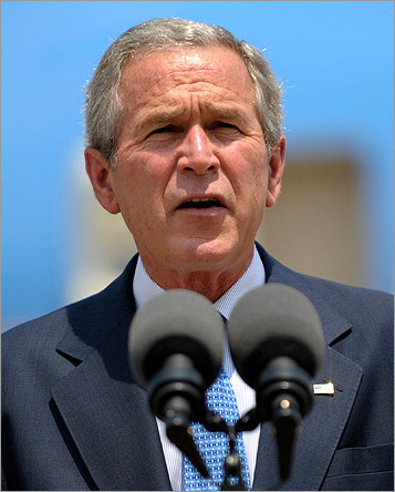 After eight years of running the country, President George W. Bush now finds himself out of a job. But he needn't worry -- there are plenty of opportunities out there for an ex-president. Scroll through this gallery to see a few, and vote at the end for the one you think suits him best.