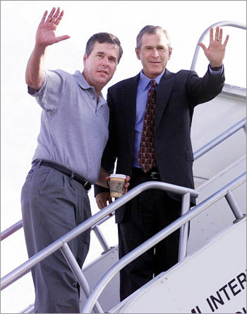 Campaign adviser The constitution forbids Bush from running for a third term, but he could always lend a hand to his brother Jeb. Patriarch George H.W. Bush stoked speculation recently when he called Jeb as qualified 'as anyone' for the Oval Office. The former Florida governor, however, remains non-committal on his desire to complete a Bush tri-fecta for the nation's history books.