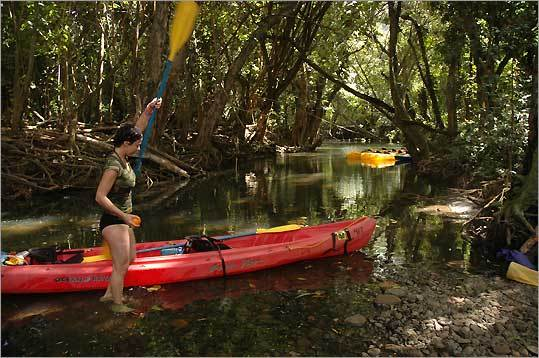 the Wailua River