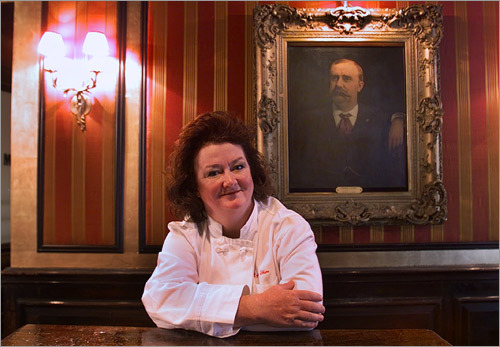 Co-owner Lydia Shire promises the lunch suspension is just temporary. 'There's absolutely no question that lunch will open again at Locke-Ober,' Shire said. 'The timing, I can't tell you. I'm not certain of the time. But it will.'
