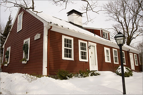This red clapboard house with five fireplaces also has a name: The David Lane House, built in 1781 by a fifer believed to have played at the Battle of Lexington and Concord. (His cousin Job Lane's house is now a museum down the road.) Address: 137 North Road Price: $749,000 Style: Farmhouse Built: 1781 Square feet: 2,709