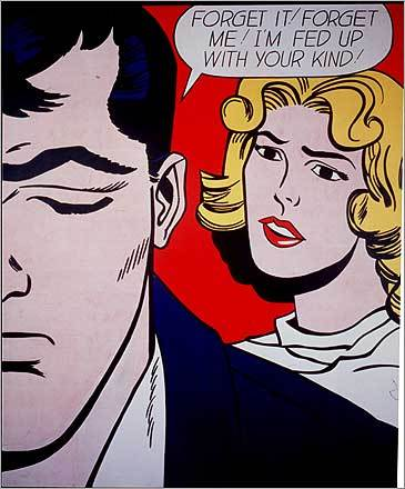 Roy Lichtenstein's 'Forget it! Forget Me!'