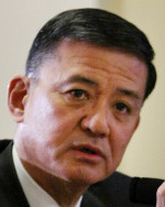 A PROMISE OF CHANGE 'So many veterans view the VA as 'Veteran's Adversary,' ' said Eric K. Shinseki, secretary of veterans affairs.