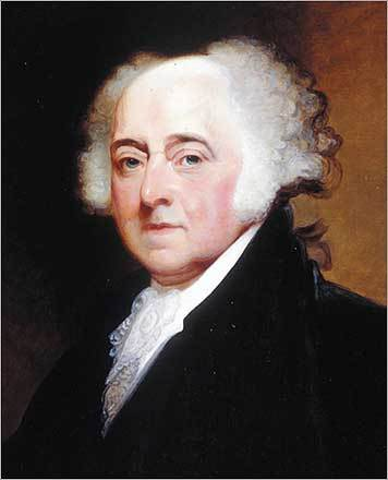 President john adams john quincy adams father was the first of his