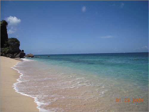 Magazine Beach in Grenada