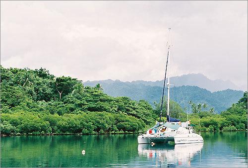 Savusavu Bay, Fiji