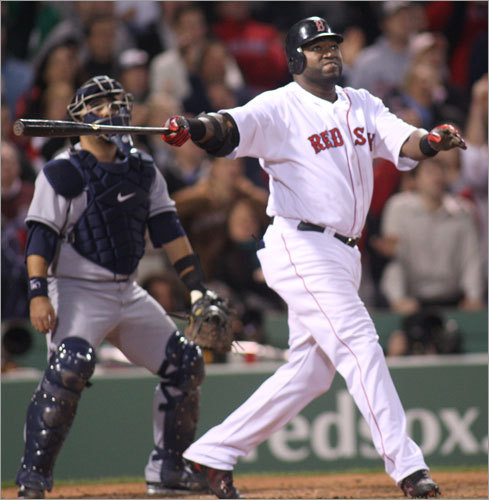 3. Should we be concerned about Ortiz and Lowell? Look at it this way: Two years ago, Mike Lowell and David Ortiz finished 1-2 on the club in RBIs, combining to knock in 237 runs while slugging .559. In 2008, they produced just 162 RBIs and a slugging percentage of .484. Obviously, both Ortiz (wrist) and Lowell (hip) had significant injuries along the way, though that only heightens concern about the ability of each to regain his prior form. Both men are a year older, too. Minus Ramirez, the Sox might be able to get by with an average performance from one of these players. But if both slip? Look out.