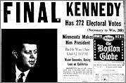 JFK wins presidency