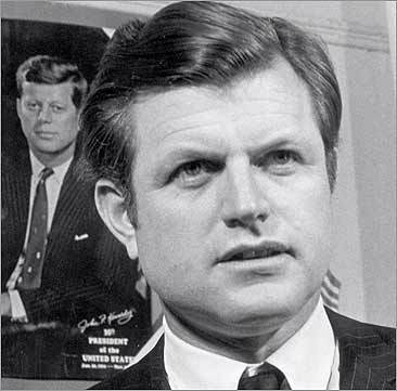 Ted Kennedy at age 37.