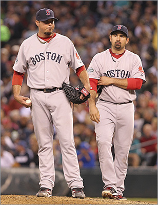 Red Sox history is filled with players, coaches, managers, and front-office types whose departure has been less than amicable. Now comes the news that the Red Sox have traded Adrian Gonzalez, Josh Beckett and Carl Crawford to the Dodgers. All three of them had their share of problems in Boston. Review a list of former Sox players, managers and coaches who had a bad breakup with the Olde Towne team.