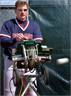 "Coaches: Mike Easler, Joe Kerrigan and Don Zimmer Easler argued with GM Dan Duquette over a number of issues. His dispute with pitching coach Al Nipper, his refusal to coach replacement players, and his salary led to his being fired. Kerrigan (pictured), a successful pitching coach, was seen as a micromanager and fought openly with Derek Lowe, Manny Ramirez, and Carl Everett during his short stint as manager in 2001. Zimmer was nicknamed ""The Gerbil"" by Bill Lee and oversaw the collapse of '78, partially because of his refusal to play the many players he disliked."