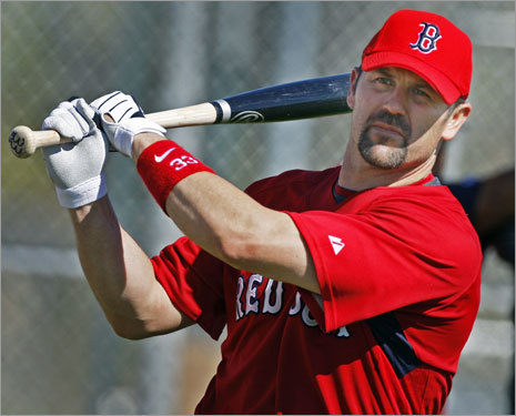 16. Jason Varitek Logic and history suggest he will never hit major league pitching capably again, but hey, the pitchers rave about him, and there remains some value in the guidance he provides. <!-- // define variables var date = new Date(); var current_time = date.getTime(); // write SCRIPT tag to browser document.writeln(' '); // -->