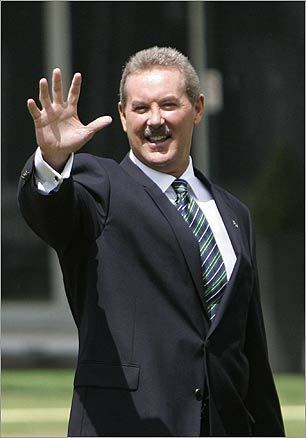 Allen Stanford The Texas financier pleaded not guilty to federal criminal charges that he masterminded a $7 billion fraud. In early February, FBI agents found Stanford in Virginia after being unable to locate him for days after the Securities and Exchange Commission filed a civil claim against him.