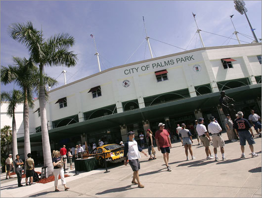 The City Of Palms Park in Fort Myers was built in 1992. Now, the Sox are seeking a new home.