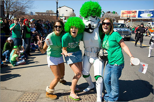 CELEBRATE ST. PATRICK'S DAY IN BOSTON Even if you don't live in Southie and your name isn't Sean, Liam, or Shannon, you're Irish by association on St. Patrick's Day in Boston. The Hub is offering a host of events to celebrate &mdash; here are some fun, festive ideas. SEARCH ALL ST. PATRICK'S DAY EVENTS