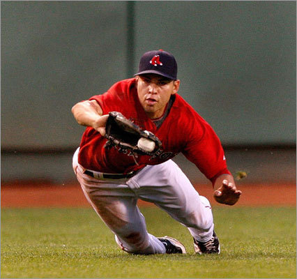 2009 Season Ellsbury played in 153 games in 2009, batting .301 with 188 hits and 60 RBIs. On the base paths, Ellsbury was been better than any Sox player, stealing 70 bases and eclipsing the franchise's single-season stolen base record previously held by Tommy Harper (54 in 1973).
