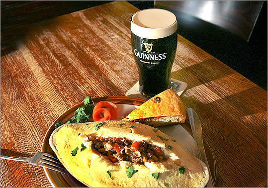 Grab some grub On and around March 17 Craving some corned beef and cabbage or hearty stew? Got a hankering for fish and chips? How about soda bread? Head to one of these Boston-area restaurants for traditional Irish fare — and wash it all down with a pint.