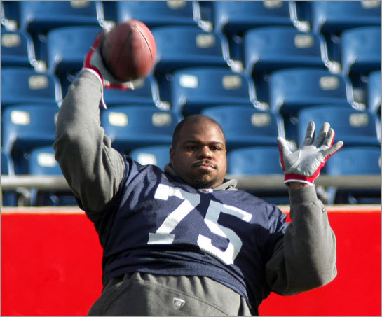 One of the free-agent decisions the Patriots will need to address in the next year will revolve around nose tackle Vince Wilfork.