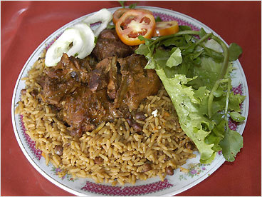MYTH: The food is one-dimensional — how many ways can you make rice and beans? REALITY: The answer: in as many ways as there have been waves of Indian, Arabic, Spanish, Portuguese, French, Dutch, Chinese, Arawak, Taino, and African migration. While almost anything you care to eat is available (even corned beef), ethnic preparations of local ingredients are the foods of place. Try pelau, a French-inspired stew of chicken or beef with rice, pigeon peas, pumpkin, brown sugar, onions, and garlic; African callaloo, a spinach soup; Amerindian pepperpot, a meat stew spiced with cinnamon, hot pepper, and cassareep; and local beach treats like Trinidad's Bake 'n' Shark, a johnnycake filled with deep-fried shark meat dressed with tamarind or chadon bene chutney.