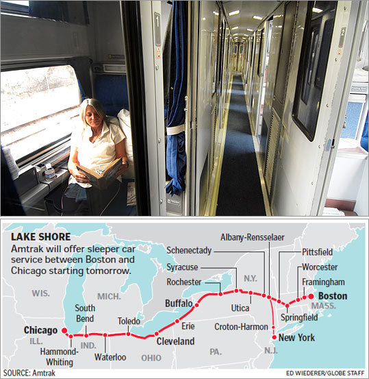 Amtrak Returns Sleeper Cars To Boston Chicago Run The Boston Globe