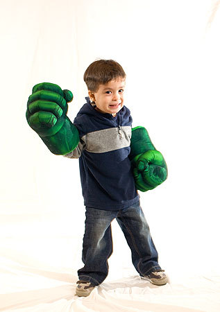 We'd probably still like him if he was angry. Billy, 2, of Brookline donned his Incredible Hulk gloves. More info on the Back Bay Events Center SUBMIT Your nightlife photos! TALK What scene should we visit next?